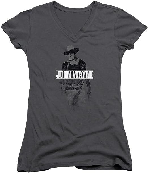John Wayne Hollywood Icon Actor Distressed Fade Off Big Boys T-Shirt Tee