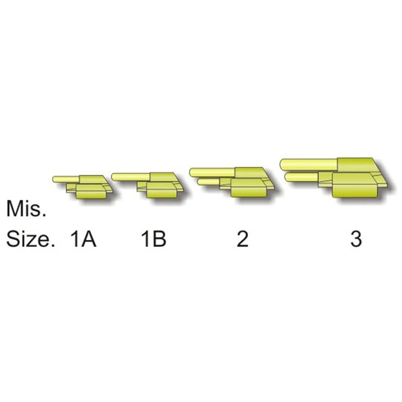 3-3,7-5,2 mm geeignet f/ür 4,5-6 mm Knicklicht Stonfo Knicklichthalter Gr