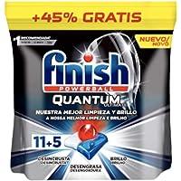 Finish Deterg.4En1 Quantum 11+5=16 past.Ultimat vaatwasser, meerkleurig, 34 stuks, 7