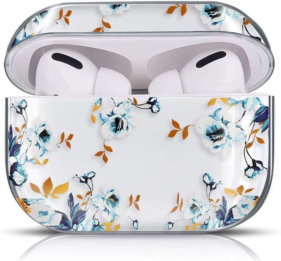 Ananas Oihxse Compatible pour AirPods Pro Coque Transparent Motif Mignon Ultra Fine PC Dur Protection Housse Filles des Fruits Charging Anti-Choc /Étui Case pour AirPods 3