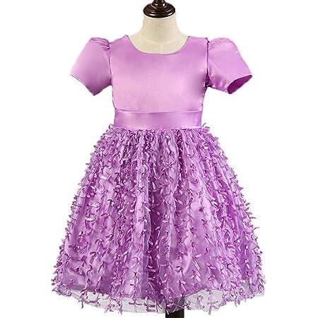 Vestido de fiesta de boda de cumpleaños de las niñ Baby Girls Flor ...