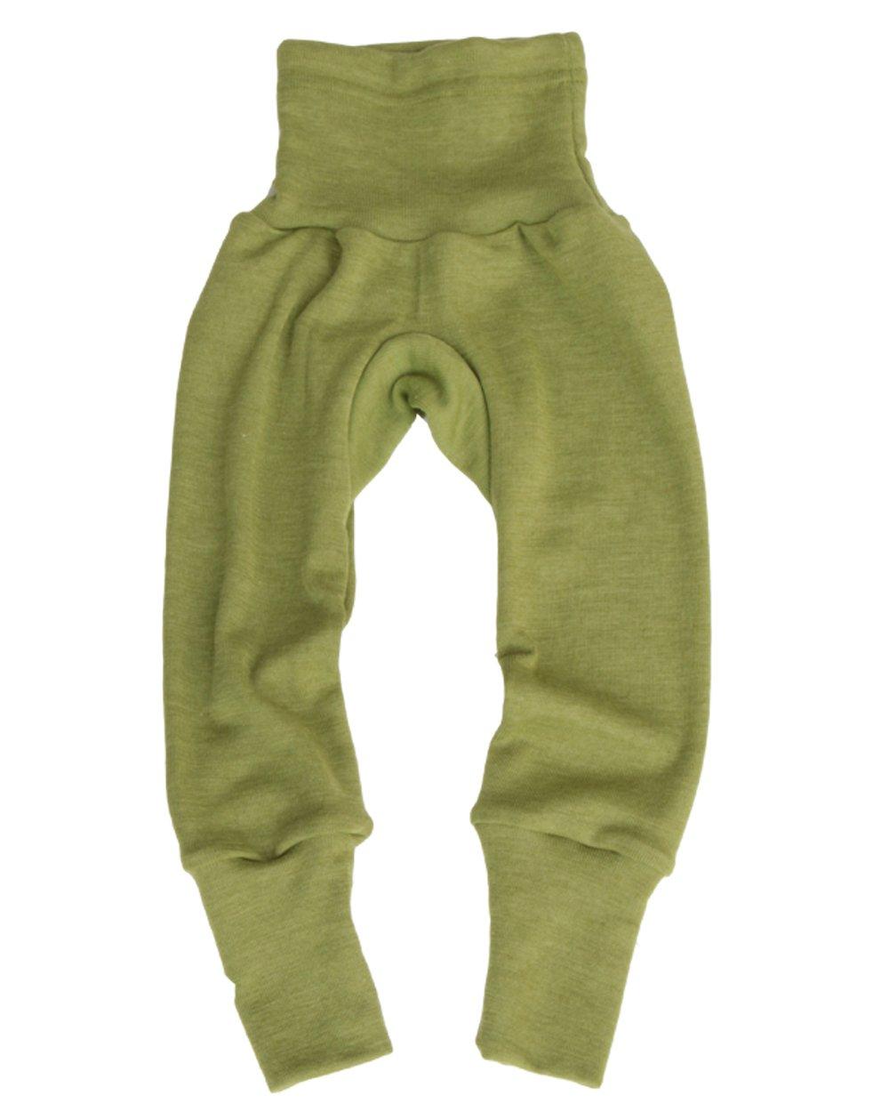 Cosilana Baby-Hose mit Bund aus kbT-Schurwolle und Seide