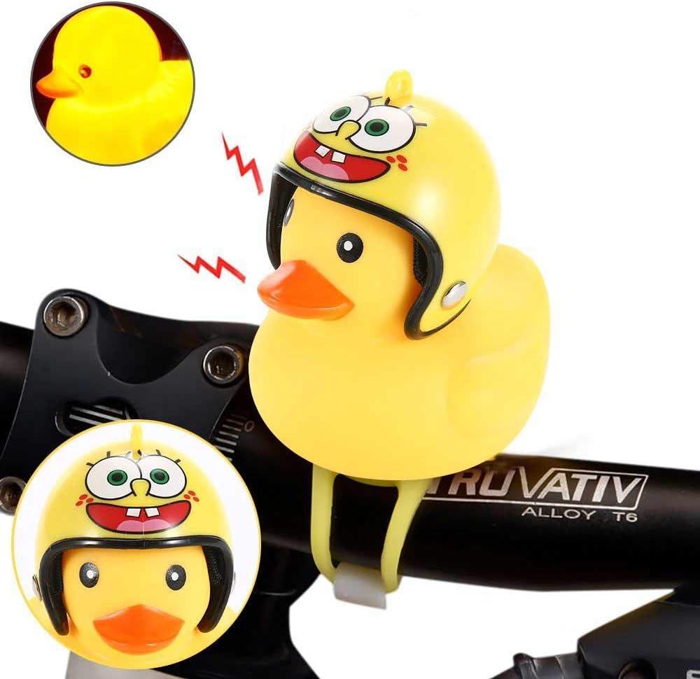 Tasoyn Duck Bike Bell, Casco Amarillo Pato Bicicleta Accesorios de ...