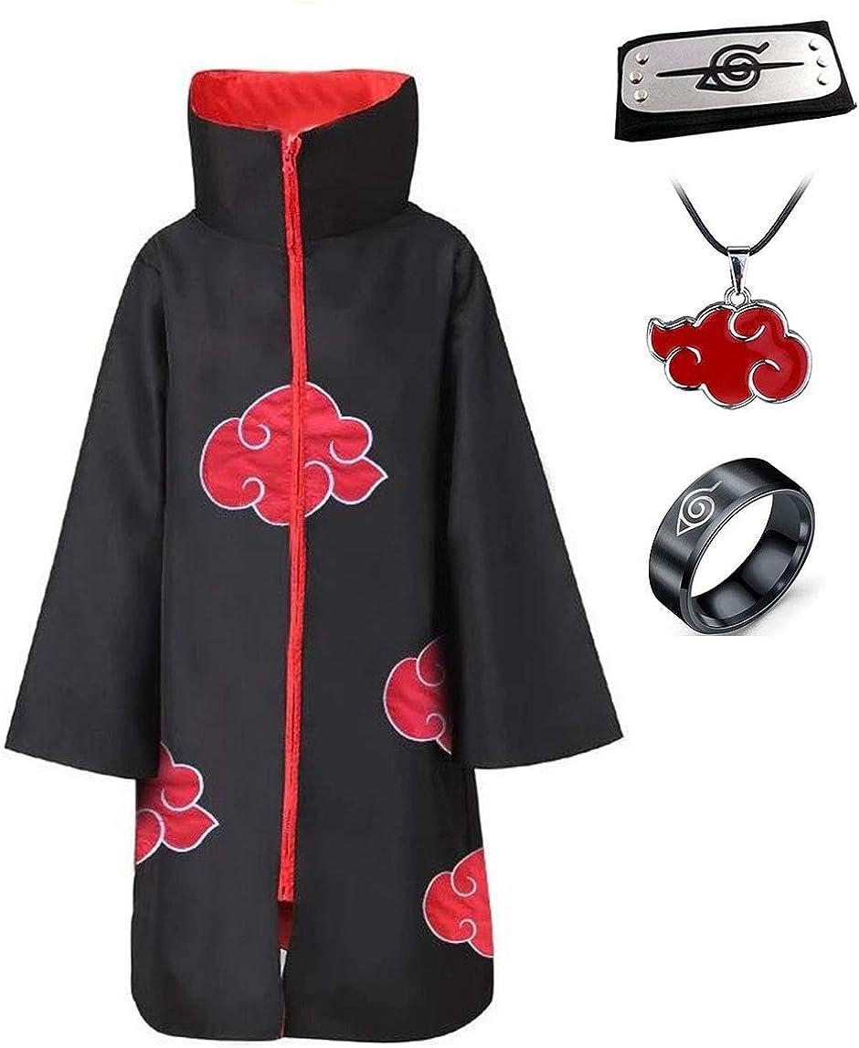 Disfraz de Itachi Uchiha (Akatsuki) del anime Naruto para cosplay ...