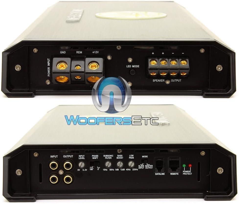 Soundstream T1.6000DL Monoblock 6,000W Max Class D Amplifier