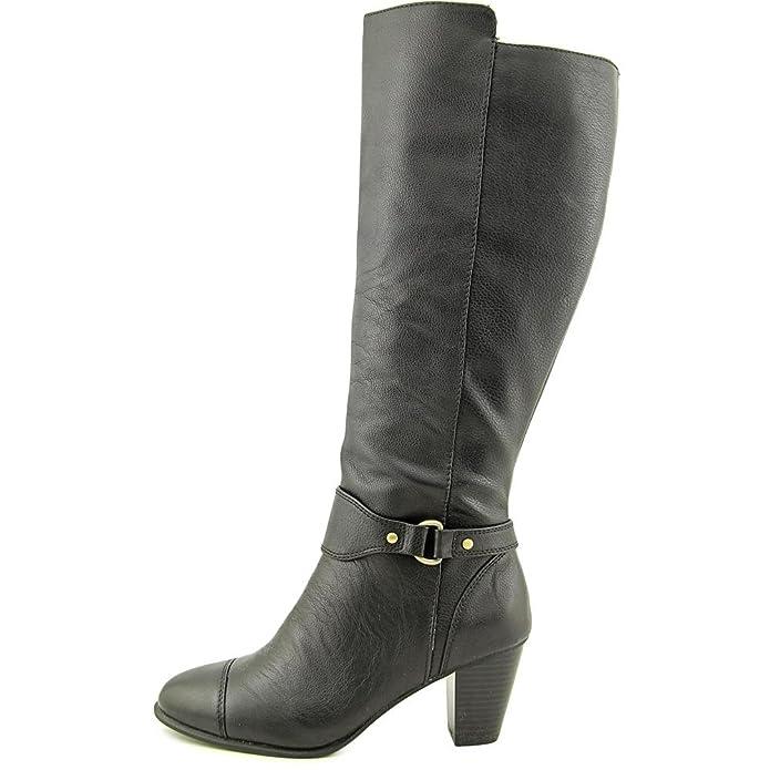8ab6c6538e82 Giani Bernini Cagney Women US 7.5 Black Knee High Boot  Amazon.co.uk  Shoes    Bags