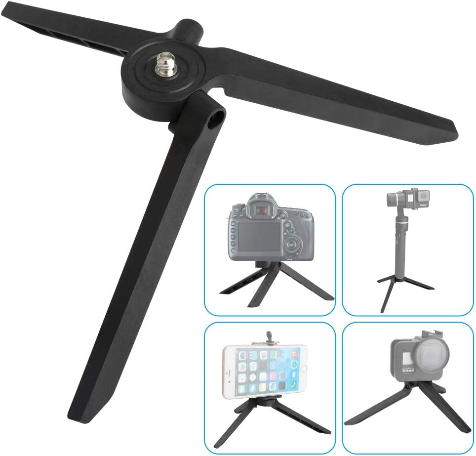 Mini Tripod, Desktop Tabletop Stand Compact Tripod for Smooth 4, Osmo Mobile, Vimble 2, Gimbal Handle Grip Stabilizer and All Cameras