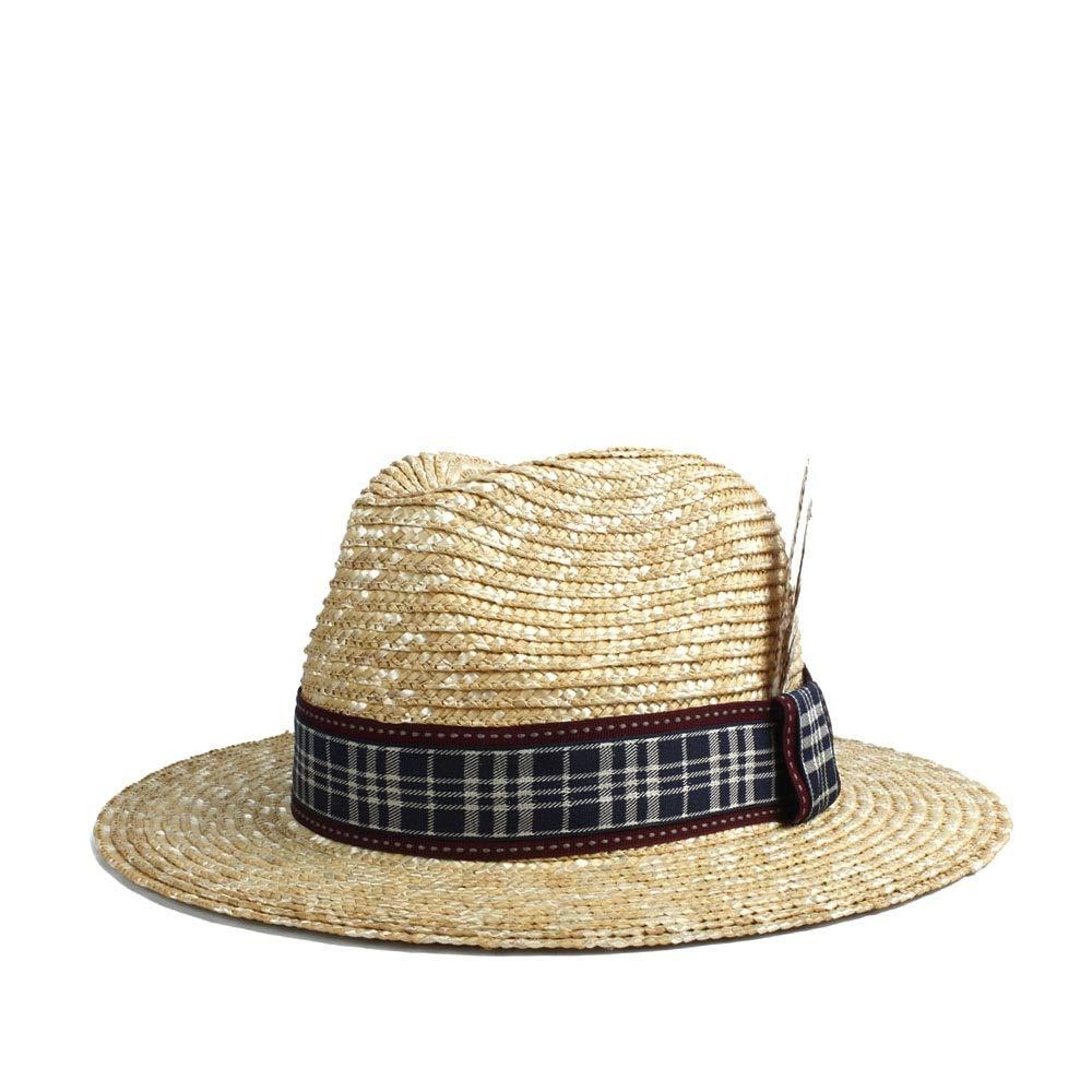 MUMUWU Sun Hat Stubble Women Men Cap Thin Feather Decoration Summer Sunscreen Hat Beach Sun Hat Fashion Unisex (Color : 1, Size : 56-58CM)