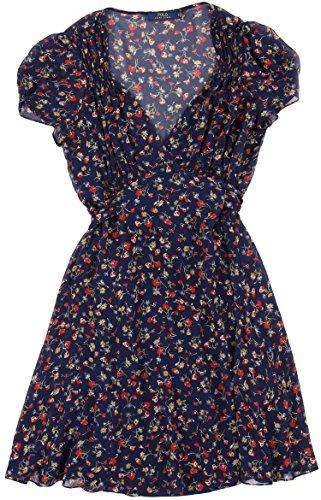 Polo Ralph Lauren Women's Seaside Floral Print Silk Dress [14] (Ralph Lauren Silk Dress)