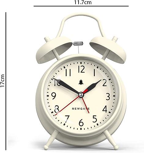Newgate New Covent Garden Alarm Clock, Linen White