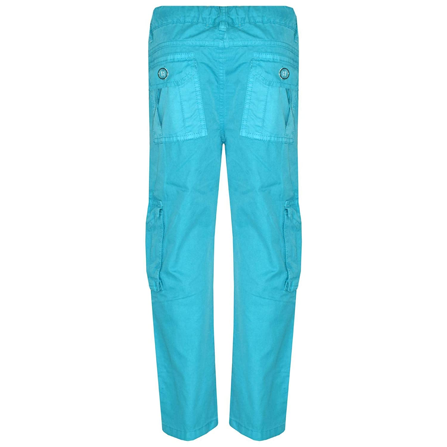 Boys Blue Adventure Denim Combat Cargo Pocket Fashion Jeans Sizes from 2 to 12 Years