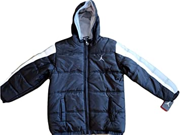 435644ff4fb3 Image Unavailable. Image not available for. Colour  Nike Air Jordan Little  Boys Puffer Bubble Jacket ...