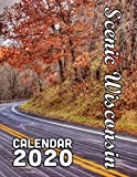 Scenic Wisconsin Calendar 2020: 14 Month Desk Calendar Showing the Variety and Depth of Beauty of this Lovely State