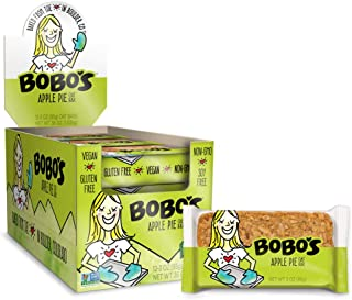 product image for Bobo's Oat Bars, Apple Pie, 3 oz Bar (12 Pack), Gluten Free Whole Grain Snack and Breakfast Bar