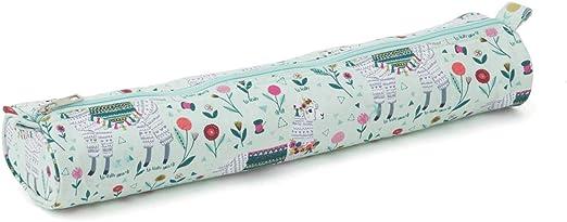 MR4699\517 - Estuche para agujas de tejer (suave), color llama.: Amazon.es: Hogar