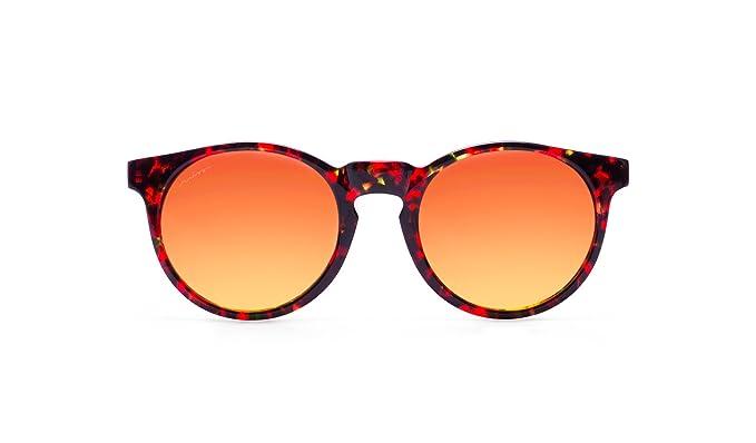 Miss Hamptons Robin Gafas De Sol, Montura Carey Lente Rojo ...