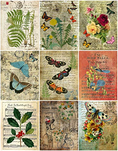 (Assorted Vintage Ephemera Vintage Label Images #7 on Collage Sheet for Photo Art, Scrapbooking, Collage, Decoupage )