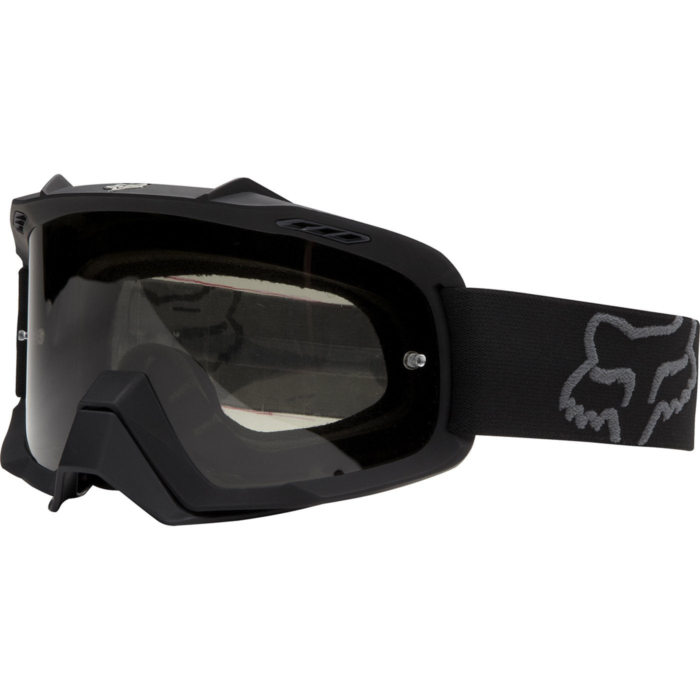 Fox Racing AIRSPC Sand Goggle - Matte Black/Grey Lens
