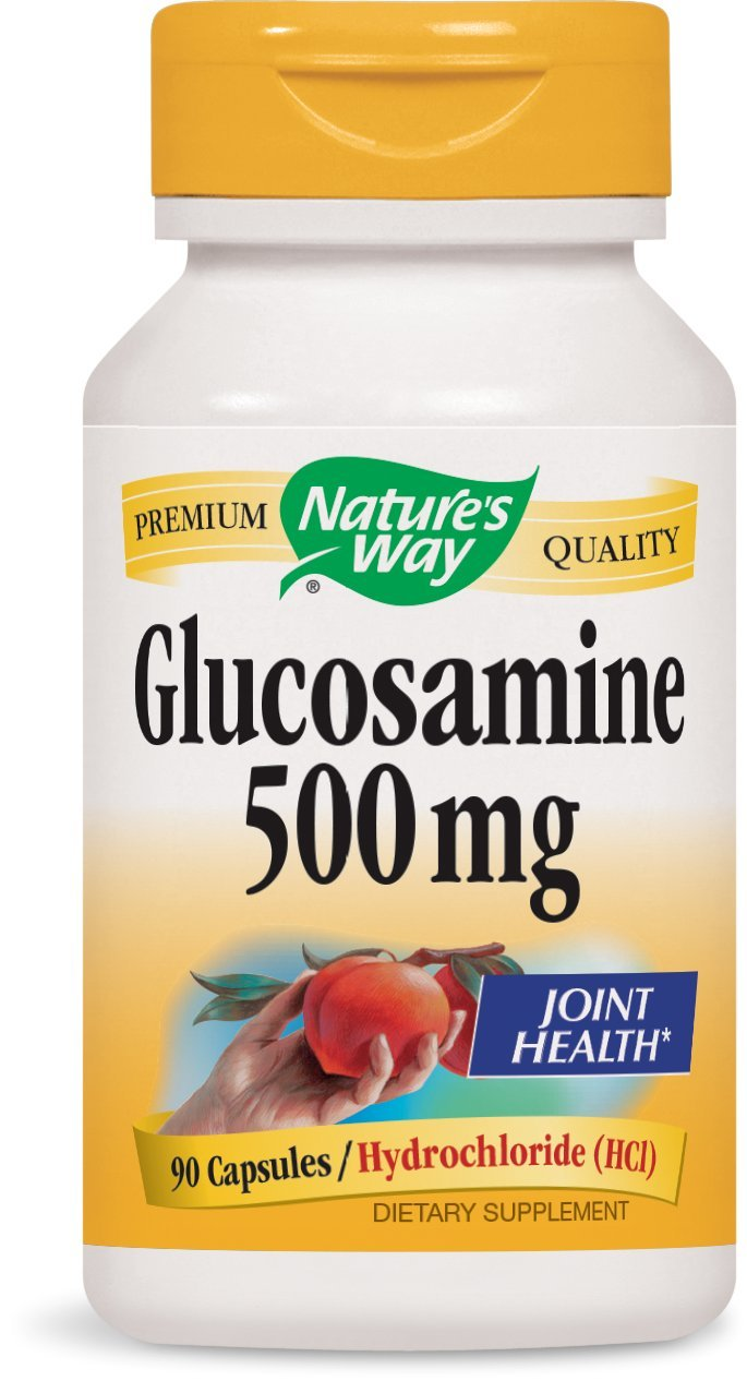 Nature's Way Glucosamine HCl, 500 mg, 90 Capsules