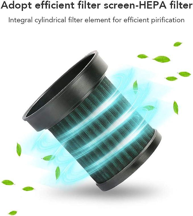 MANLI Ionizer Car Purificador de aire Limpiador de ambientadores de aire para autos con filtros HEPA reales y de ...