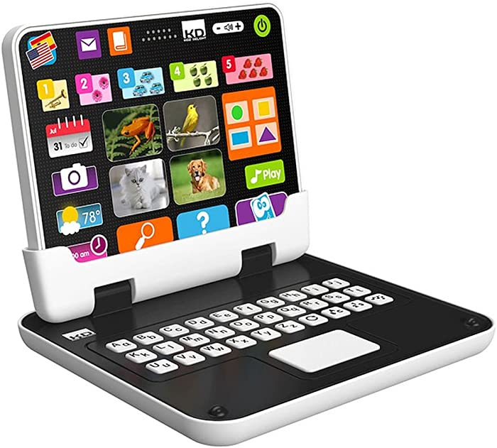 Tech Too My First 2 n 1 Tablet - Kids Love To Mimic What The Grownups Play With. Now The Kids Have Their Own 2 In 1 Tablet
