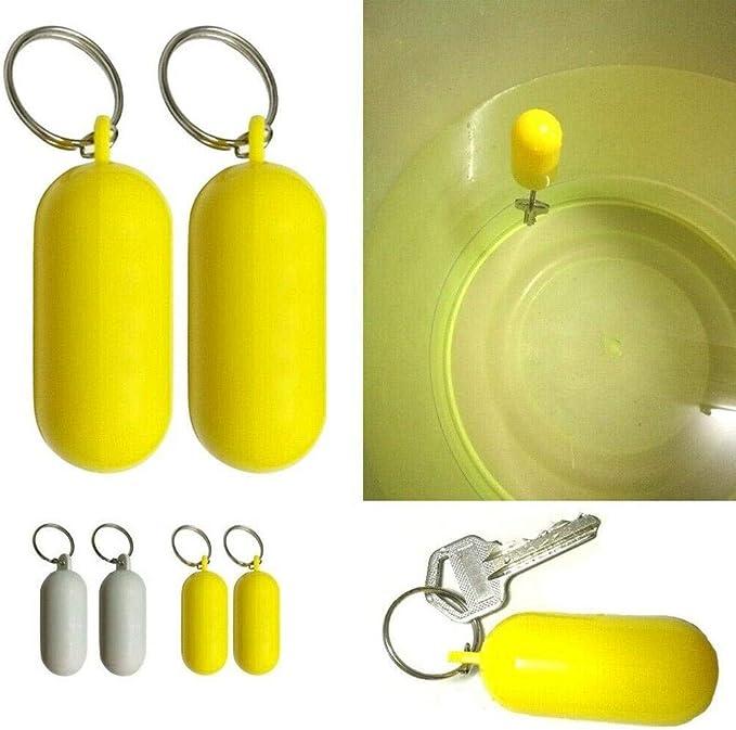 Neoprene Round Floating Keyring Key Ring Keychain for Yachting Boating Canoe