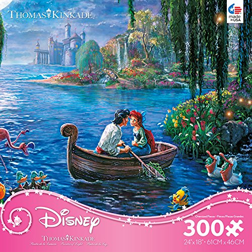 300 Pieces Ceaco Thomas Kinkade Disney Princess Collection The Little Mermaid II Jigsaw Puzzle