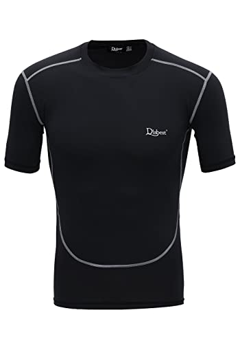 Men's Sport T-Shirt, Quick Dry Short Sleeves Performance Compression Tops
