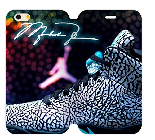 """Hoomin Colorful Fahiion Air Michael Jordan iPhone 6plus 5.5"""" Cell Phone Cases Cover Popular Gifts(Double Protective)"""