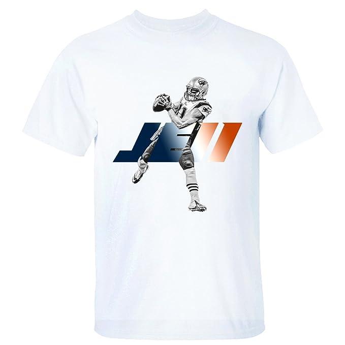 5e265c335d8 CD DC Men s Julian Edelman JE11 Cotton T-shirt white M  Amazon.ca ...