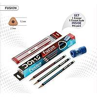 DOMS Fusion X-TRA Super Dark Pencils Pack of 5