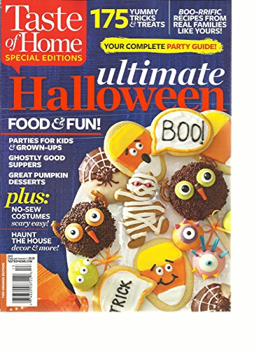 TASTE OF HOME, SPECIAL EDITIONS 2013 (ULTIMATE HALLOWEEN * FOOD & FUN !) -