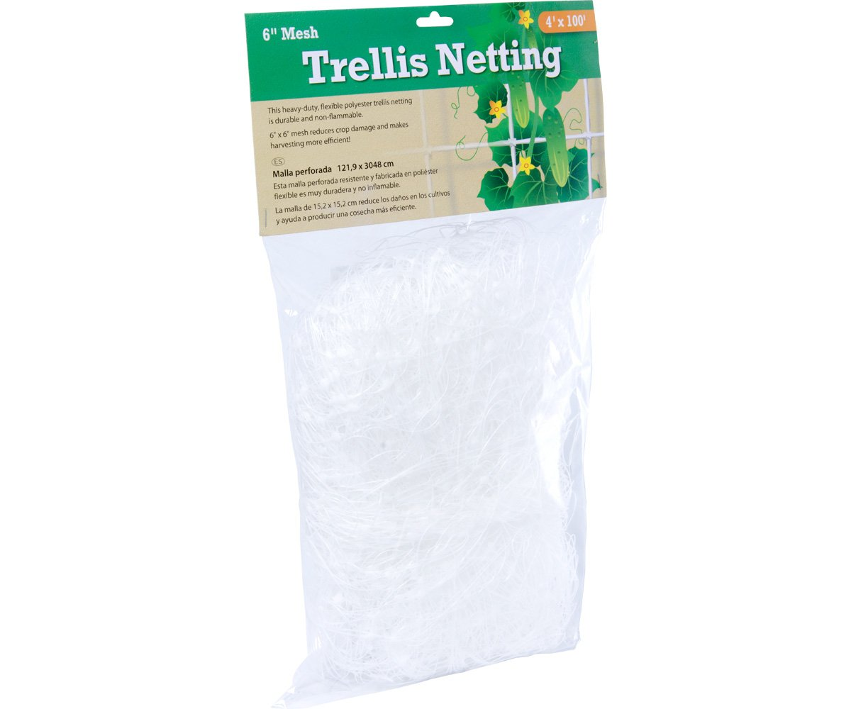 Hydrofarm Trellis Netting 5-Feet x30-Feet
