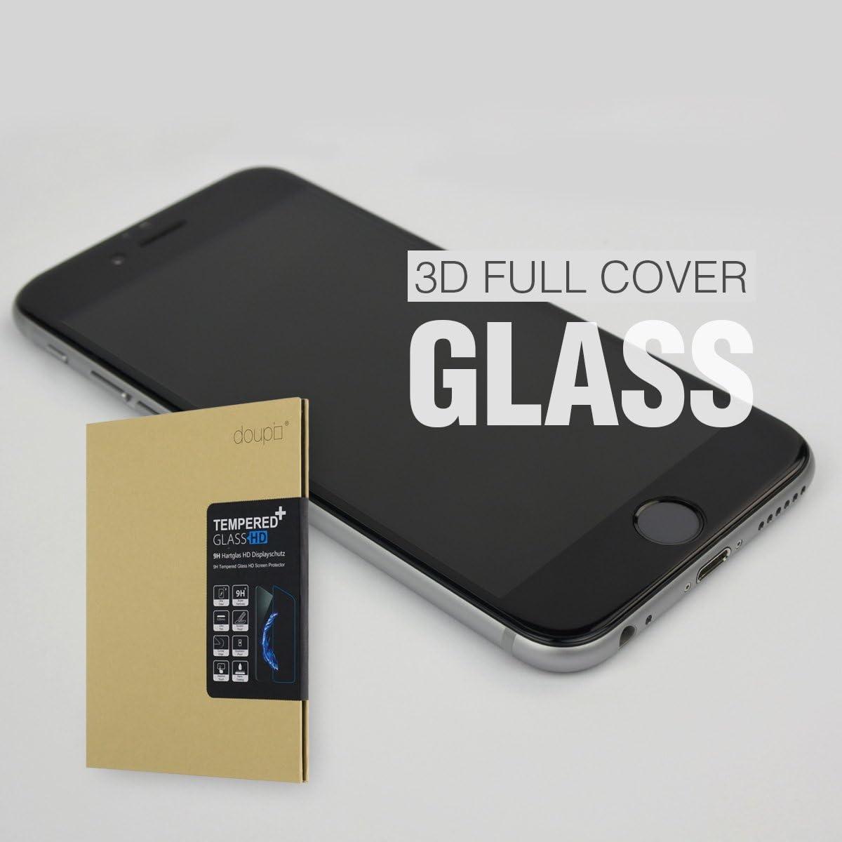 Doupi Fullcover Panzerfolie Für Iphone Se Iphone 8 Computer Zubehör