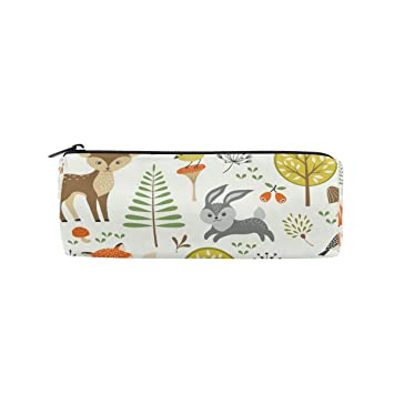 ShineSnow Forest Animals Fox Dear Owl - Estuche para lápices ...