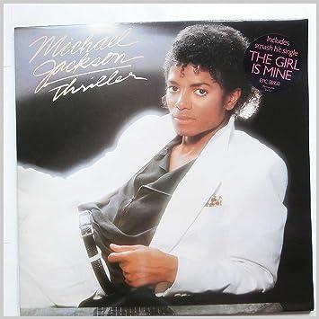 Michael Jackson - Thriller LP (Vinyl Album) UK Epic 1982 - Amazon.com Music