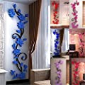 dds5391 Home Living Room Decor 3D Flower Removable DIY Wall Sticker Decal Mural
