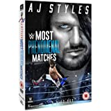 WWE AJ Styles - Most Phenomenal Matches - Limited Alternate Sleeve Edition
