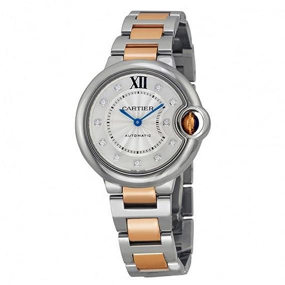 CARTIER BALLON BLEU DE CARTIER RELOJ DE HOMBRE AUTOMÁTICO 33MM WE902061: Amazon.es: Relojes