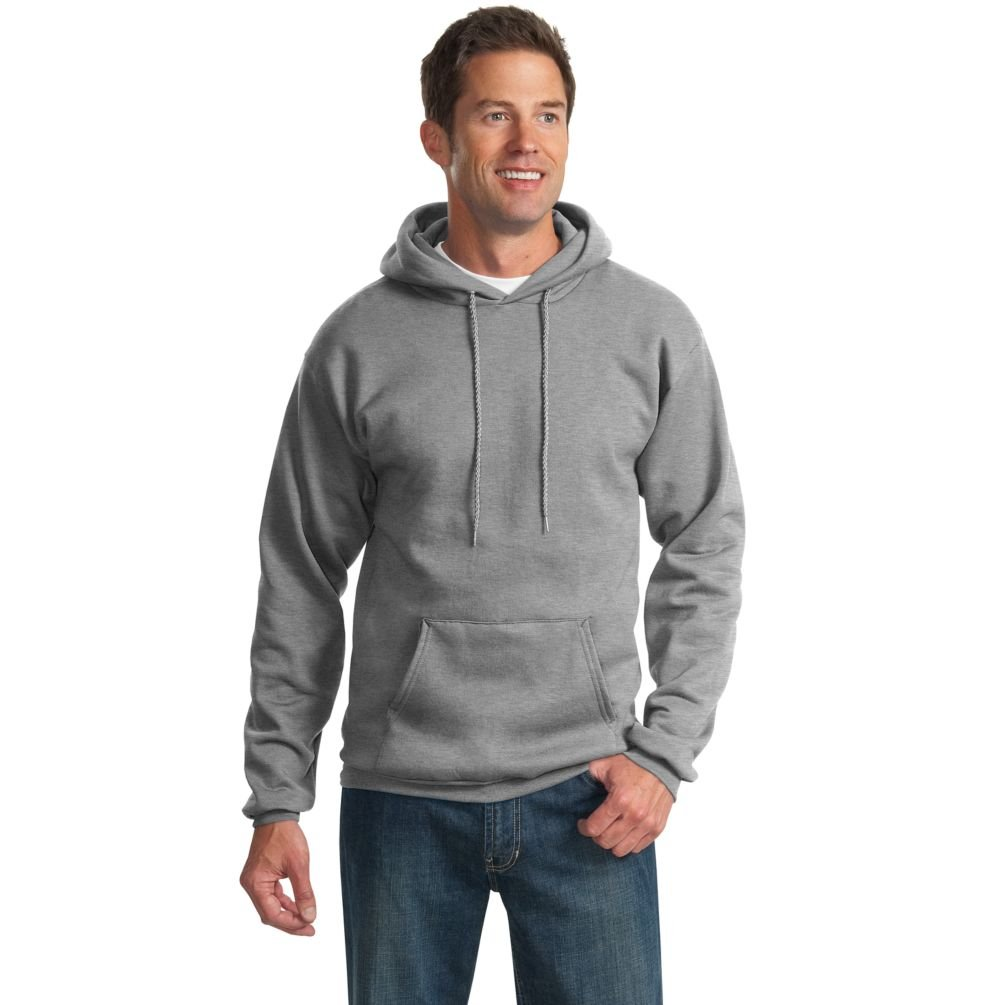 Port & Company 9 oz Pullover Hooded Sweatshirt (PC90H) at Amazon ...