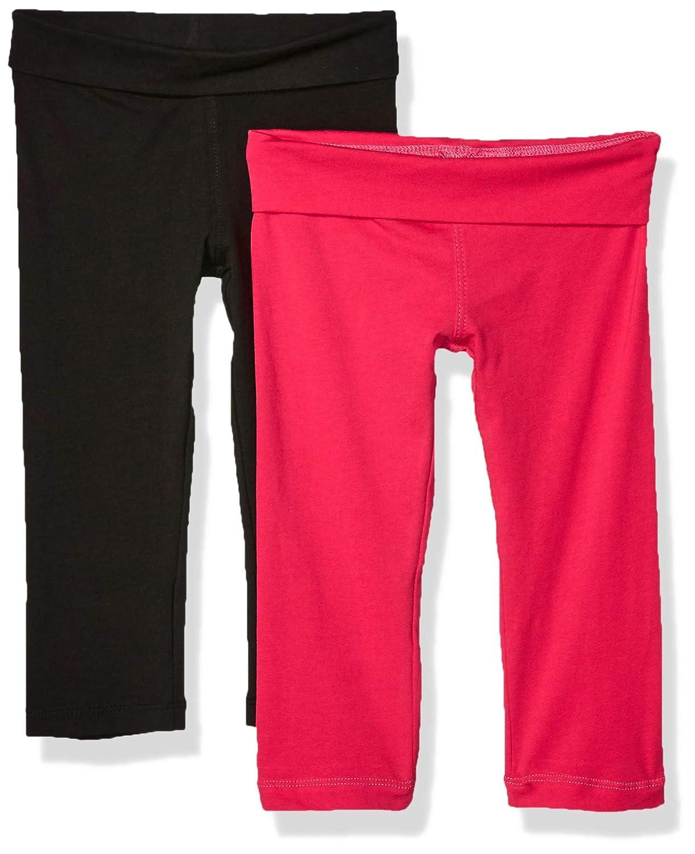 Clementine Apparel Girls Athletic Sport Yoga Pant Leggings Pack of 3