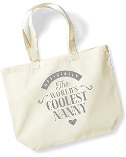 Im Not Short Canvas Tote Shopping Bag Cotton Printed Shopper Bag Xmas Gift