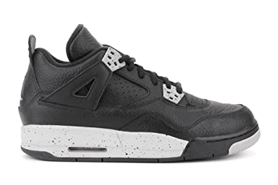 Nike Air Jordan 4 Retro Black/tech Grey-black Oreo 408452-003,