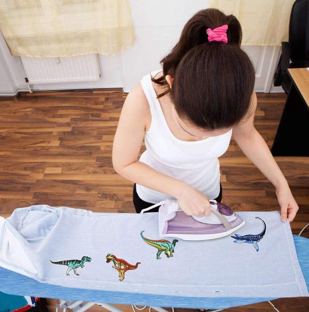 Sunshine smile Ecussons Thermocollants Car Patches /à Repasser 16 pcs Voiture Patch Thermocollant Ecusson /à Coudre pour V/êtement T-Shirt Jeans Veste