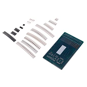 Homyl SMD DIY Soldador LED Componentes Práctica Junta de Formación Habilidad Kit/Piezas Módulo 81