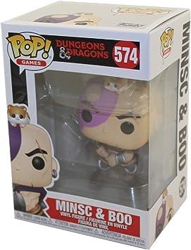Funko- Pop Games: Dungeons & Dragons-Minsc & Boo Collectible Toy, Multicolor, Talla Única (45115): Amazon.es: Juguetes y juegos