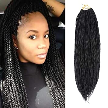 Amazon Com 8 Packs 14 Senegalese Twist Crochet Hair Braids Small