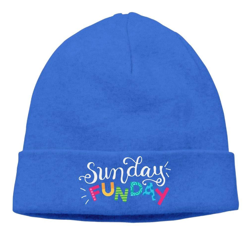 09/&JGJG Sunday Funday Women and Men Knit Hat Skull Cap