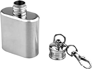 SE 1 oz. Stainless Steel Keychain Flask - HQ148-1