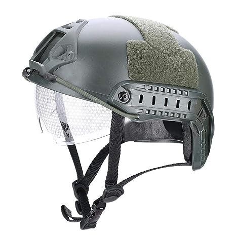 Amazon com : Adult Tactical Helmet, Multifunctional Airsoft